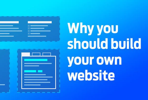 Why build your own website?