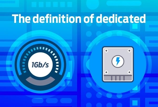 Dedicated servers: powerful, well-connected and all yours