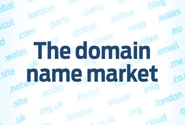 The domain name market