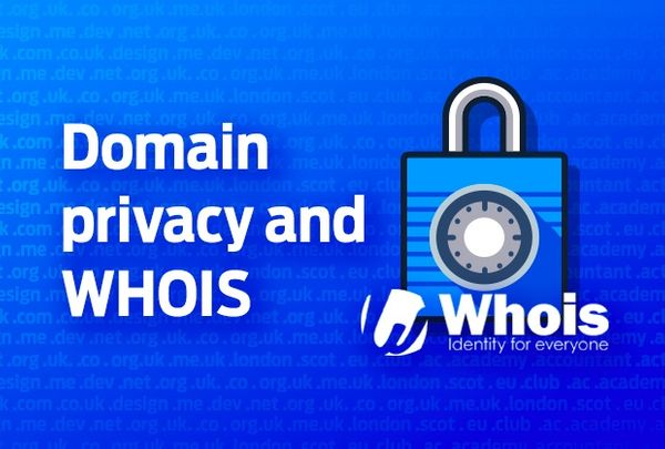 Domain privacy and WHOIS