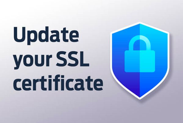 Update your SSL certificate
