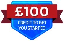 £100 credit to get you started