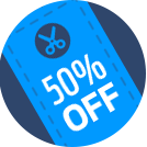 Voucher codes icon