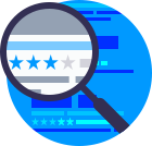 SEO and marketing tools icon
